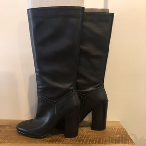 Aldo Leather Below The Knee Boot